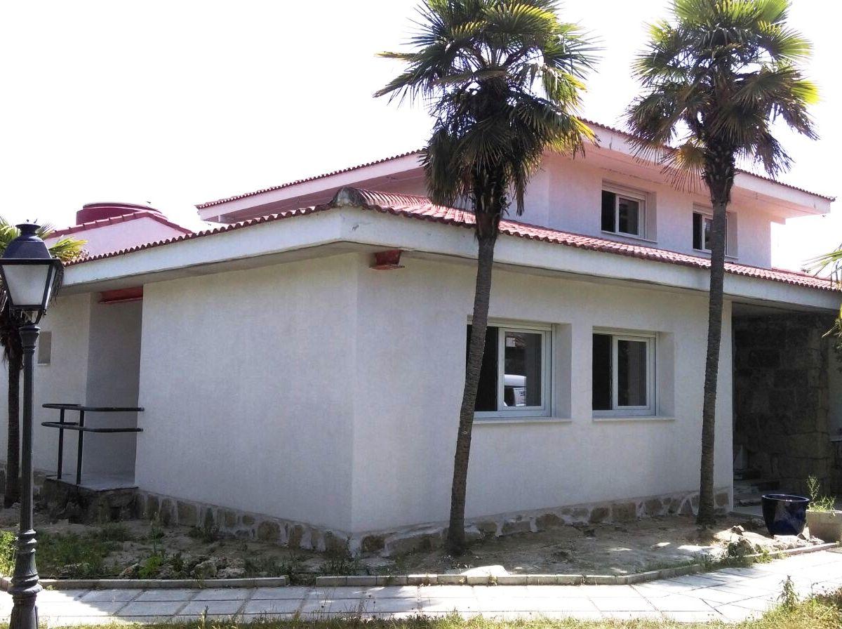 rehabilitación integral de fachada con mortero de cal