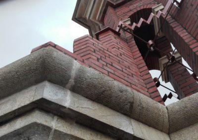 Recomposición volumétrica en campanario
