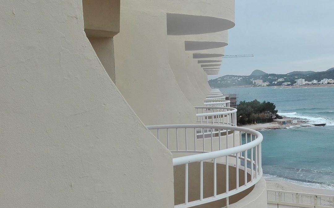 Reparación pilares de hormigón en Ibiza