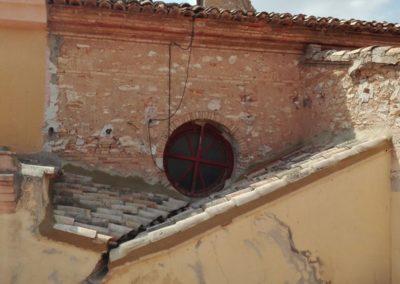 Reparación filtraciones cubierta de teja