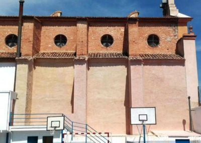 Rehabilitación integral de fachada colegio