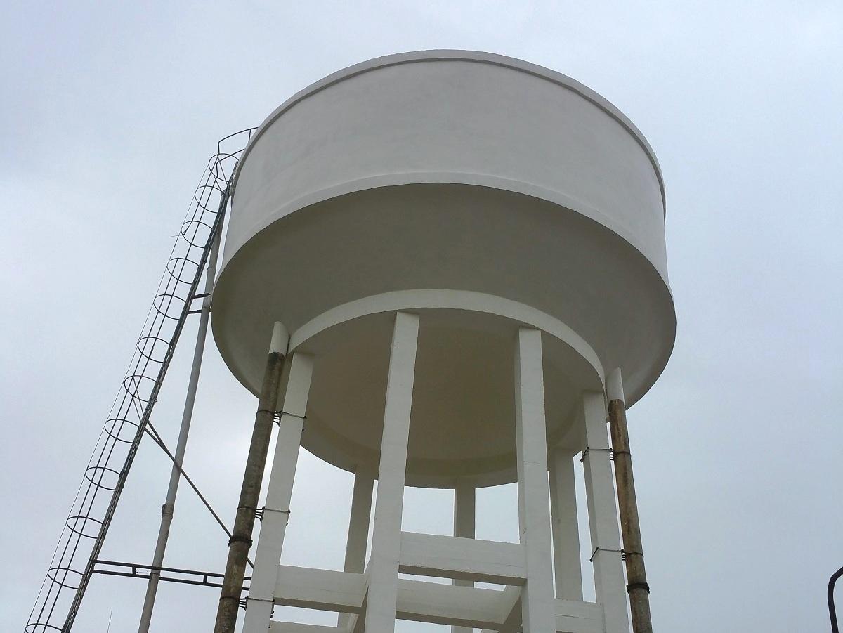 rehabilitación depósito de agua