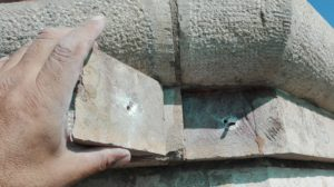 piedra disgregada