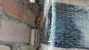 pilar hormigon reparado